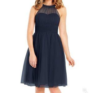 Azazie Mackenzie Dress Dark Navy